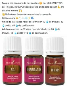 Sistema inmune Young Living Kids, Young Essential Oils, Esential Oils, Essential Oil Storage, Oil Mix, Living Oils, Forever Young, Aromatherapy, Essential Oil Combinations
