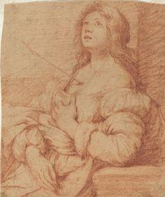 Bernardo Strozzi detto il Cappuccino o il Prete genovese (Genova, 1581 – Venezia, 2 agosto 1644) - Saint Ursula   #TuscanyAgriturismoGiratola