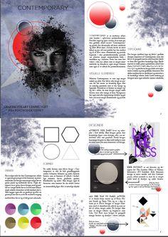 Denne opgave gik ud på at vælge en artikel og layoute den, så det passede til stilarten, artiklen handlede om. I dette tilfælde, valgte jeg contemporary