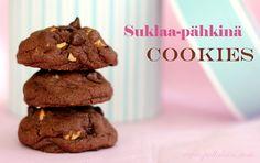 Pullahiiren leivontanurkka: Suklaa-pähkinä Cookies