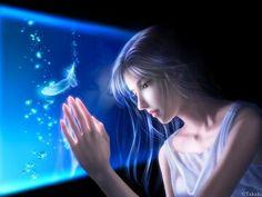 fantasy girl - Other Wallpaper ID 265942 - Desktop Nexus Anime Fantasy Girl, Chica Fantasy, Fantasy Women, Beautiful Fantasy Art, Beautiful Artwork, Rain Girl, Fantasy Pictures, Fantasy Kunst, Japanese Artists