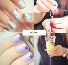 pretty & playful manicures