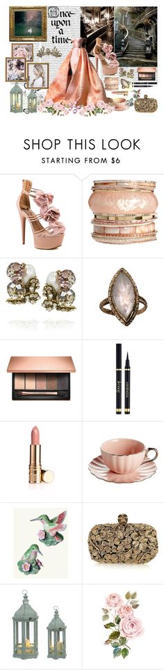 """""""Once Upon A Time"""" by beauty-love-1 ❤ liked on Polyvore featuring Oris, Penny Loves Kenny, Oasis, Bijoux Heart, Clarins, Yves Saint Laurent, Once Upon a Time, Elizabeth Arden, Alexander McQueen and Blue La Rue"""