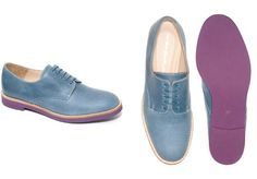 colourful brogues. in love.
