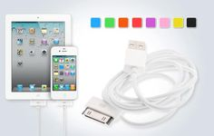 Two 10 Ft. iPhone Charging Cables - Never Crouch By The Outlet Again! - Save 80% Just $9.99
