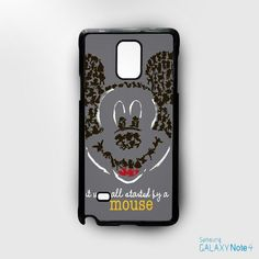 It was All Started by a mouse Disney for Samsung Galaxy Note 2/Note 3/Note 4/Note 5/Note Edge phonecases