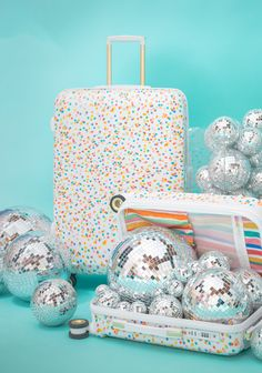 Confetti Suitcases / Oh Joy for CALPAK Travel Collection