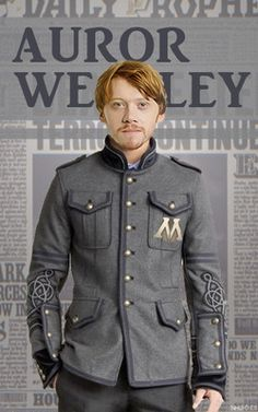 Ron as an Auror