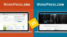 Great explanation of the difference between Wordpress.com hosted and Wordpress.org self-hosted sites.