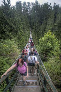 Bridge Over Troubled Water   The Capilano Suspension Bridge, North Vancouver, British Columbia, CA