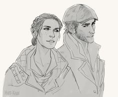 Evie & Jacob Frye. The Frye twins. Assassin's Creed Syndicate.