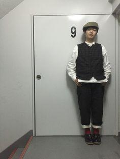 Yusuke Takahashiハンチング・ベレー帽「KAREN HENRIKSEN ASSA」Styling looks