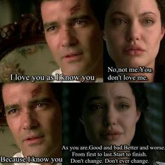 original sin movie quotes | Quotes and Movies: Original Sin (2001)
