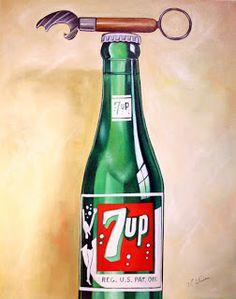 daryl gortner artist | UP Bottle Still Life - painting series #8