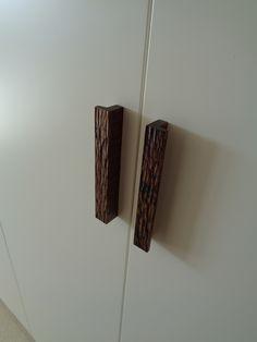 Hand crafted door handles