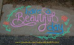 Sidewalk Chalk Pictures, Sidewalk Chalk Art, 3d Street Art, Street Art Graffiti, Graffiti Artists, Chalk Quotes, Chalkboard Signs, Chalkboard Ideas, Chalkboards