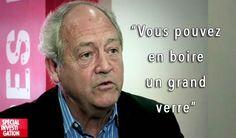 Monsanto : un lobbyiste , le Dr patrick Moore , estime l'herbici de potable, mais refuse d'en boire ! ! Mais pourquoi ?M'enfin ! rappelons , qu'en France , un champ de blé sur TROIS est traité au GLYPHOSATE !