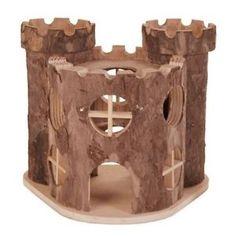 Trixie Matti Castle - Wooden Hamster House | eBay
