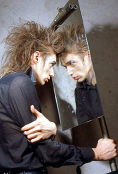 Blixa Bargeld from Einstürzende Neubauten… Nick Cave, Music Icon, My Music, Photo Rock, Tv Movie, Goth Music, The Bad Seed, Gothic Rock, Punk Goth