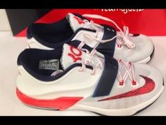 Nike KD 7 VII USA Shoe HD Look With Dj Delz The Sneaker Addict SHow 7s