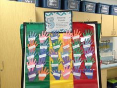 Helping Hands - parents can pick a hand and donate to the class :)