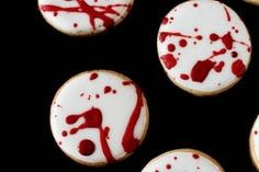Blood Spatter Cookies