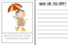 Inferencing Activity {First Grade}