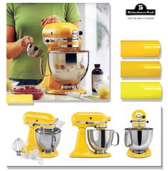 Kitchenaid Majestic Yellow Ksm150psmy Artisan Series 5