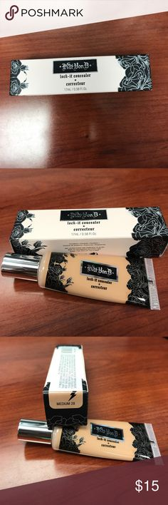 Authentic Kat Von D Concealer Authentic Kat Von D Concealer. Shade medium 28 Kat Von D Makeup Concealer