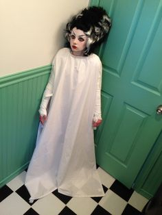Bride of Frankenstein costume.