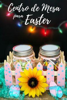 Cómo hacer un centro de mesa / canasta de regalo para Pascua / Easter => Haz PIN para guardar ! #SpringItOn #NestleKitchen [AD] Sponsored