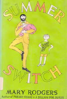 my vintage book collection (in blog form).: Summer Switch - illustrated by Edward Gorey