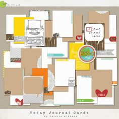 The Lilypad :: Element Packs :: Today Journal Cards