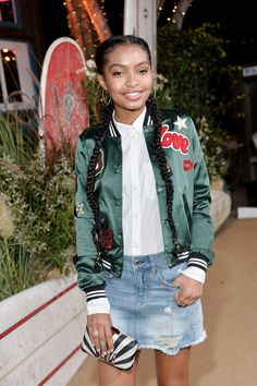 "Yara Shahidi, nominated by Vogue.com Senior Fashion Writer Marjon Carlos - ""I am personally inspired a lot by young women right now. I feel like the up-and-coming generation is full of talent, verve, style (of course), and a real sense of female empowerment. They lean on one another for support and so when one rises in the ranks, a slew of them come with. Hence, why I think in 2017 we are going to be looking to Yara Shahidi, Salem Mitchell, Girls Do It Better, Keke Palmer, SZA, Chloe x…"
