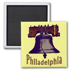 Liberty Bell Fridge Magnet