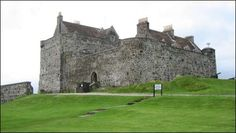Duart Castle is situated on the east coast of the Isle of Mull