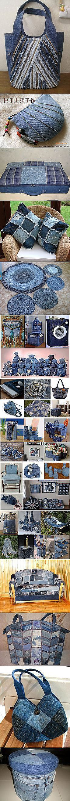 Search Postile: from old jeans Patchwork Bags, Quilted Bag, Denim Handbags, Purses And Handbags, Denim Crafts, Jean Crafts, Jean Purses, Recycle Jeans, Repurpose