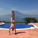 Lake Atitlan - Handstands