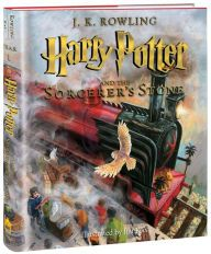 Harry Potter and the Sorcerer's Stone: The Illustrated Edition (Harry Potter Series #1)  For the first time, J. K. Rowling's beloved Harry Potter books will be presented in lavishly illustrated full-color editions.