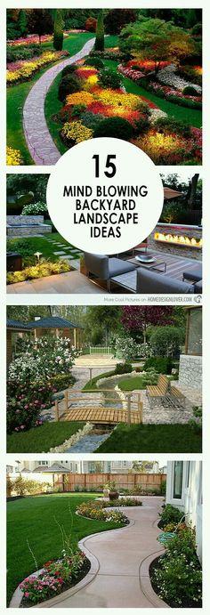 Backyard landscaping, landscape inspiration, landscape ideas, DIY landscaping, p. Outdoor Landscaping, Front Yard Landscaping, Backyard Patio, Backyard Landscaping, Outdoor Gardens, Backyard Ideas, Landscaping Design, Back Yard Landscape Ideas, Diy Landscaping Ideas