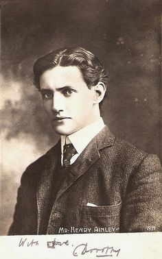 henry ainley..british stage and film actor