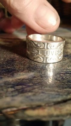 Check out this item in my Etsy shop https://www.etsy.com/listing/502320167/loved-4-eternity-xoxo-wgd-bolt-in