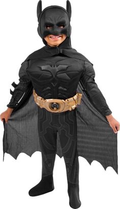 Toddler Boys Dark Knight Rises Batman Costume - Party City