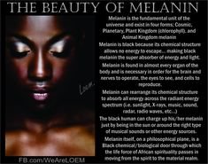 Ancient Egyptians - Does your natural melanin influence your psychic ability? Chakras Reiki, Pseudo Science, Chemical Structure, Psychic Development, Black History Facts, My Black Is Beautiful, African American History, Native American, Black Power