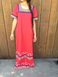 Ribbon Native Ceremonial Dress by ReynasCloset on Etsy, $32.00
