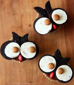 Plus de 1000 id es propos de anniversaire chouette sur pinterest chouette cupcakes en forme - Deco pour cupcake ...