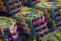 Curiosidades del Mundo: Techos verdes y apartamentos botánicos.