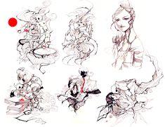 Chiller Night Doodlez by Nanohikakou.deviantart.com
