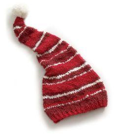 knit stocking hat pattern
