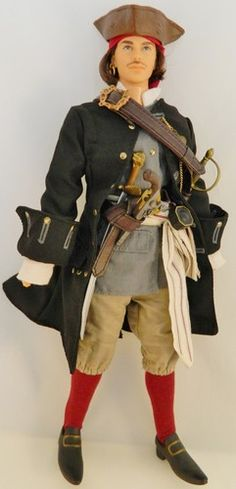 RARE Ken Barbie Doll Historical Pirate Fashion Set Clothes Shoes Hat | eBay